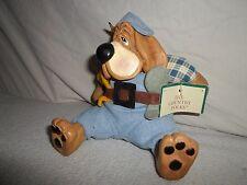New ! Little Critter Factory Country Folk *Dog* Figurine Kathleen Kelly Handyman
