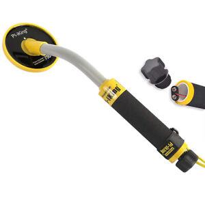 Pi-Iking Unterwasser Metalldetektor 30m Pinpointer Pulsinduktion LED-Licht T7L4