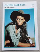 Schauspielerin CLAUDIA CARDINALE | Portrait | Star-Foto / Sammelbild-Karte #41