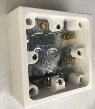 MK 13Amp Switched Fused éperon Unité de raccordement avec néon