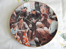 """""""The War Hero"""" Plate Rockwell'S American Heroes Norman Rockwell"""