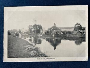 Hungerford Nr Newbury The Marsh Canal Pre 1910