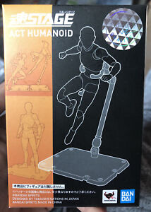 NEW Bandai Tamashii Stage Act 4 for Humanoid Clear Stand S.H. Figuarts