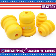 New 4PCS Front Rear Position Control Arm Bump Stop fits Cadillac Chevy GMC Truck