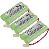 3pcs 2.4V 800mAh Ni-MH Battery For Cordless Home AT&T VTech BT166342 EL52251