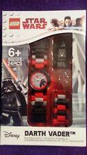 LEGO Star Wars The Last Jedi Darth Vader kids minifigure buildable watch