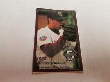 High Desert Mavericks 1998 Minor Baseball Pocket Schedule - Pepsi