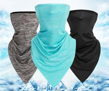 Elastic Face Mask Silky Soft Cover Bandana Sport Neck Gaiter Long Scarf Unisex