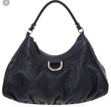 711b9ff522c Gucci Guccissima  D  Gold Hobo Handbag Black