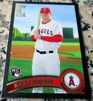 MARK TRUMBO 2011 Topps BLACK SP Rookie Card Logo RC 45/60 Angels Orioles 218 HRs