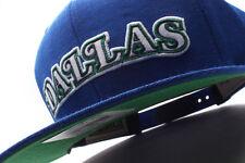 Dallas Mavericks Mitchell & Ness (NZ979 TPC 5MAVER) Solid Snapback Hat