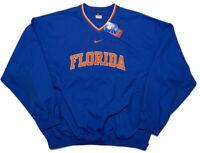 NIKE Florida Gators Pullover Jacket Blue Men's XXL 2XL ~ New