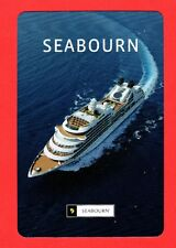1 Single VINTAGE playing/swap card SHIP SHIPPING SEABOURN S64