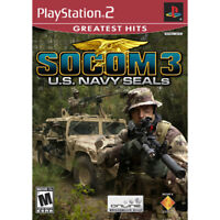 Socom 3  Sony Playstation 2 PS2 Game