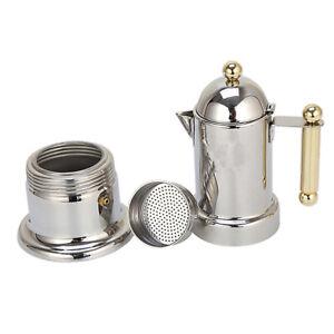 Coffee Percolator Espresso Stove Top Maker Perculator Stainless Steel Pot