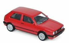 MODELLINO AUTO VW GOLF GTI SERIE 1 rosso SCALA 1/43 DIECAST NOREV MODELLISMO RED