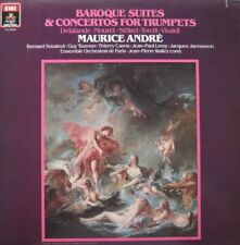 MAURICE ANDRE - BAROQUE SUITES & CONCERTOS FOR TRUMPETS - LP