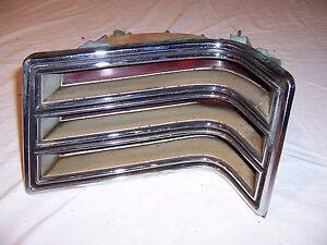 1967 Chrysler Newport RH Tail Light Lens Assembly