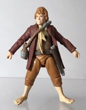 "Lord Of The Rings Mini Miniature Sam Wise 3"" Action Figure ToyBiz Poseable 2012"
