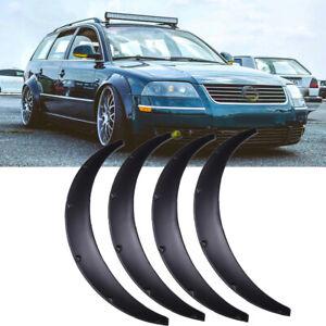 "For Volkswagen Passat B5 4X Fender Flares Wide Body Kit Wheel Arches 3.5"" 90mm"