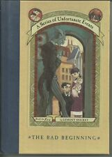 A Series of Unfortunate Events Bk 1: The Bad Beginning HC by Lemony Snicket
