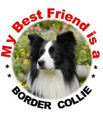 2 Border Collie Car Stickers MBF 1 - By Starprint