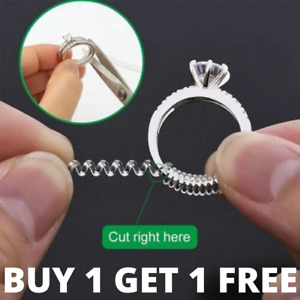 Ring Sizer Wrap Clip Size Reducer - Fits All Rings - 10cm long - Cut to Fit