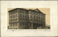Kankakee IL St. Viateurs College c1910 Postcard
