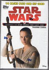 Star Wars Journey to the Last Jedi 2017 Topps 61 Card Blaster Box