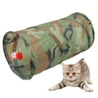 Folding Polyester Pet Cat Rainbow Colorful Tunnel Tubes Toy for All Seasons Play