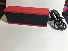 Jawbone Jambox Wireless Bluetooth Portable Speaker ;  Red/Black limited edition