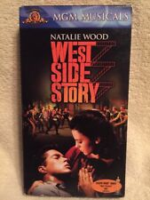 WEST SIDE STORY ** Natalie Wood (Musical) -- 100's of VHS in Store, Rare & OOP