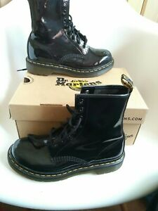 Dr Martens Womens Ankle Boots Size 5 EU 38 black leather