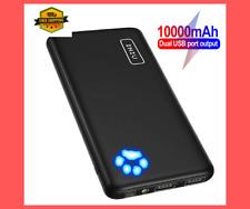 INIU Power Bank Charger External Battery Portable USB Cell Backup Dual 10000mAh