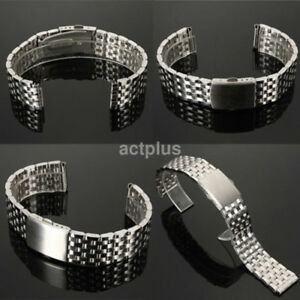 Universal Stainless Steel Watch Band Strap Straight End Bracelet Links Hot Sale