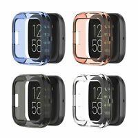 Replacement Protective Case Cover Frame Protector for Fitbit Versa 2 Smart Watch