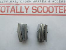 CASA LAMBRETTA BOTTOM LEGSHIELDS END CAPS - PAIR - BEST QUALITY