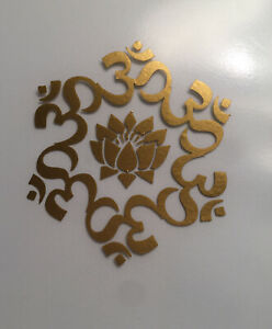 Namaste| Mandala|Flower|Buddha| Peace|Love|Insparation| Yoga|Vinyl|Decal|Sticker