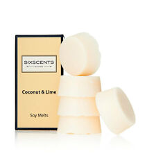 New Be Enlightened Coconut & Lime Scented Soy Melts Oil Burner 5 pack OFFICIAL S