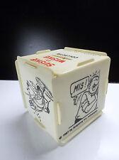 Rare tirelire en plastique  Suske en Wiske Bob et Bobette 1987