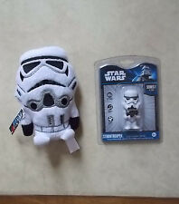 "STAR WARS STORMTROOPER USB 2.0 FLASH DRIVE 2 GB + STORMTROOPER 7"" PLUSHIE - NEW"