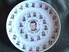 Kennedy Collector Plate Washington  Kennedy 1963 All Presidents Display Vintage