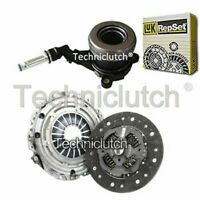 NATIONWIDE 2 PART CLUTCH KIT WITH LUK CSC FOR OPEL VECTRA C ESTATE 1.6