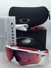 New OAKLEY Sunglasses RADAR EV PATH OO9208-05 White & Red Frame w/ PRIZM Road