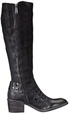 New Womens 5.5 Designer Donald J Pliner Tall Boots Black NIB Dulce Riding Wester
