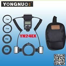 YongNuo YN24EX YN24-EX TTL Macro Ring Flash Adapter Ring for Canon EOS DLSR