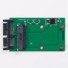 "Mini PCIe PCI-E SSD de MSATA a 1.8"" Micro Tarjeta Adaptador Convertidor de SATA PCBA Cg"