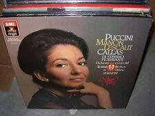SERAFIN / CALLAS / PUCCINI manon lescaut ( classical ) - box set - SEALED
