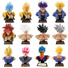 16cm Super Saiyan Son Goku Bust Model Dragon Ball Z GK Statue PVC Figure New