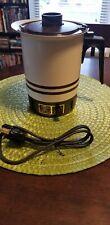 Vintage Beige West Bend 36 oz Hot Pot # 3106 Great Condition Coffee Tea Liquid